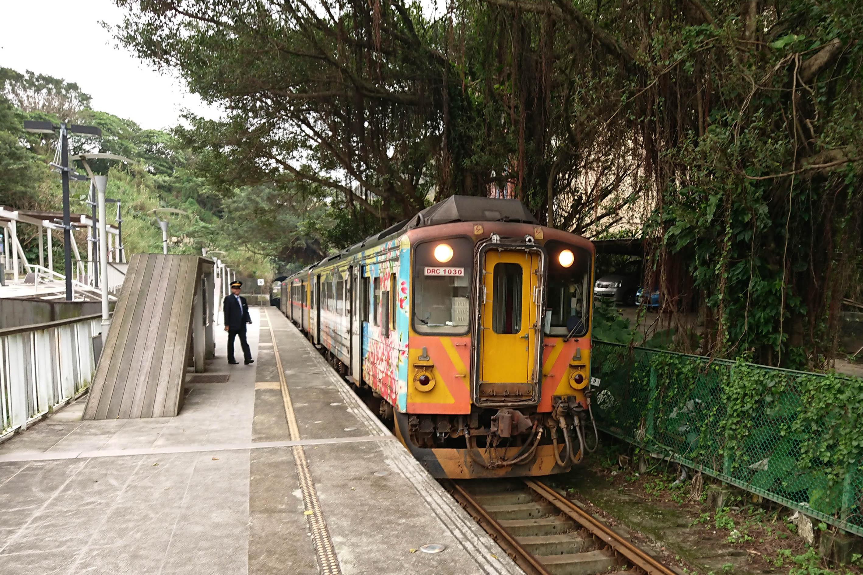 瑞芳小鎮鐵道
