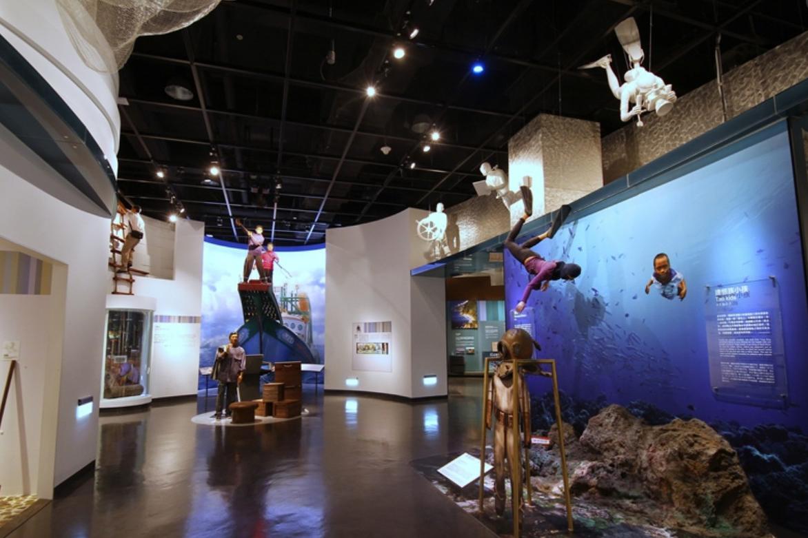 國立海洋科技博物館-主題館