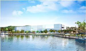 開新視窗,海洋生態館建築外觀