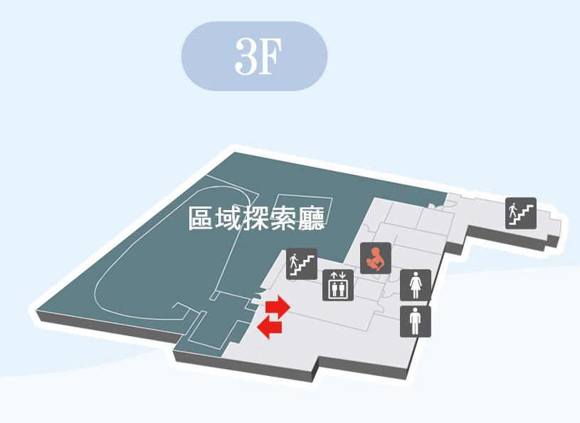 區域探索館3f