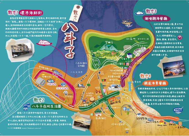 海科館周邊散步地圖