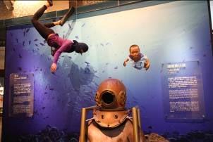海女、潛水伕