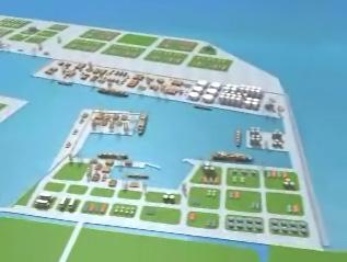 建港影片動畫模擬
