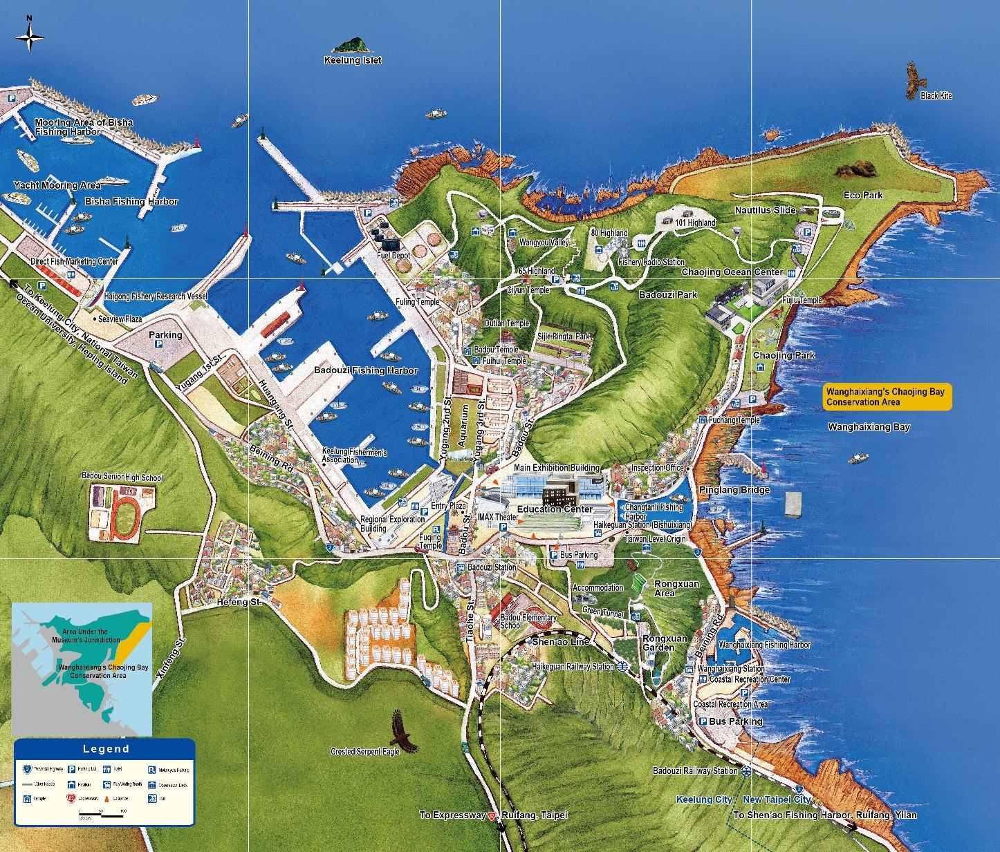 NMMST map