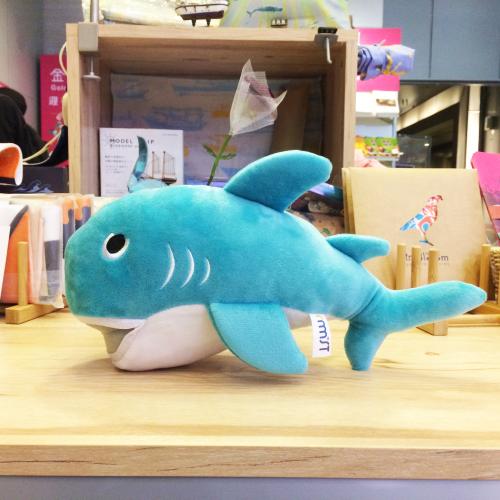 巨口鯊布偶-藍