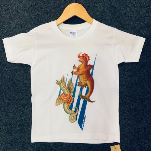 《海怪圖記》兒童T恤-海馬