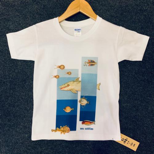 《海怪圖記》兒童T恤-海怪群