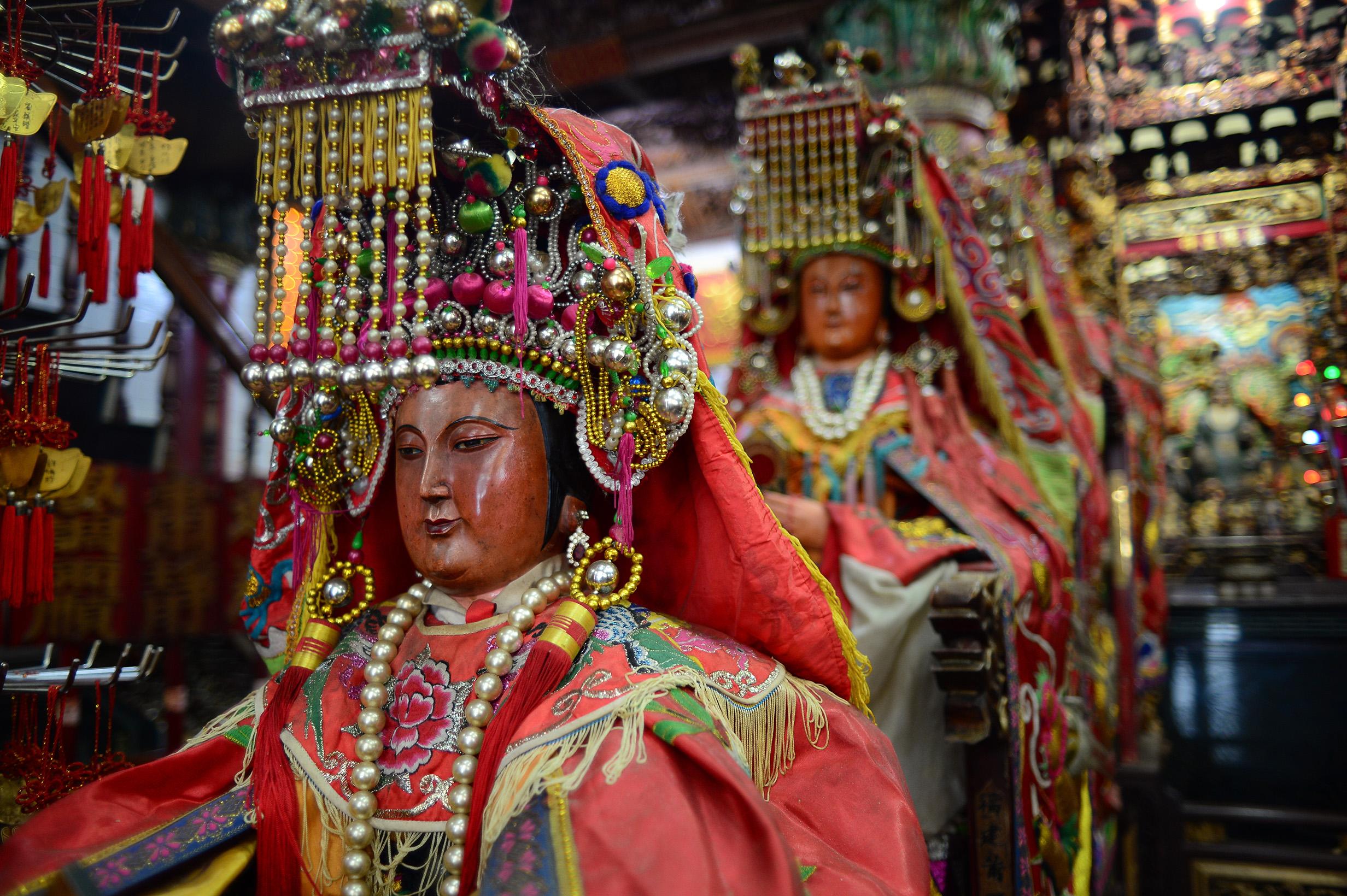 東方海神的故事:中國神話媽祖