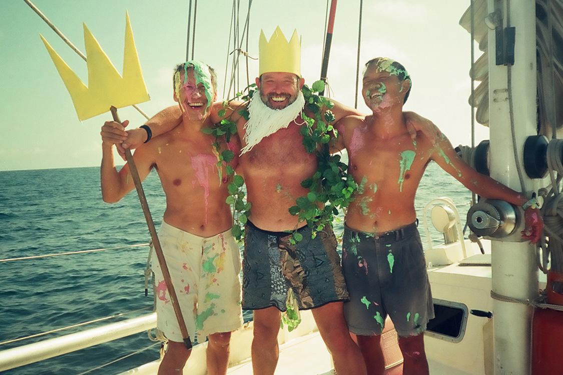 快樂出航不可少 東西方特殊航海儀式