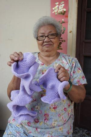 七斗子阿娥婆婆熱心的參與協作