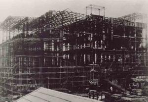 北火電所興建中照片