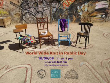 開新視窗,World Wide Knit in Public Day