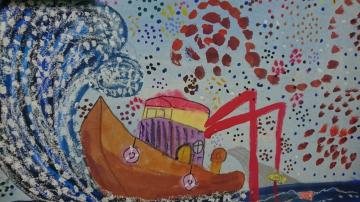 東信國小學生作品-漁船