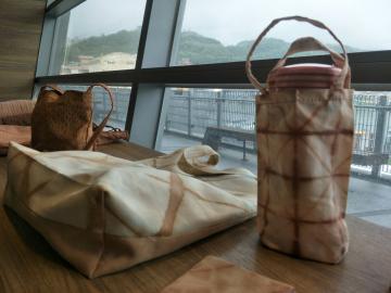 薯榔海水染提袋