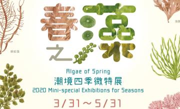 109/3/31-109/5/31 春之藻-潮境四季微型展